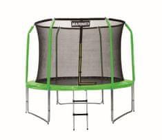 Marimex zestaw pokrowców na trampolinę 244 cm - zielony