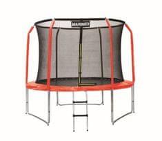 Marimex zestaw pokrowców na trampolinę 305 cm - czerwony