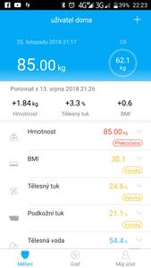 iGET BODY B11 ingyenes alkalmazás iOS, Android rendszerhez, Bluetooth kapcsolat.