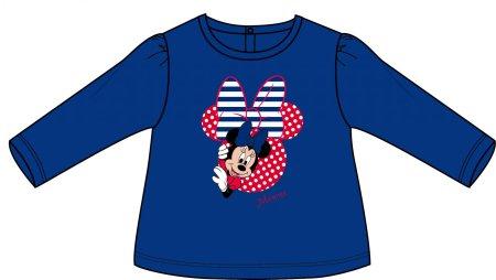 Disney by Arnetta dívčí tričko Minnie 80 modrá