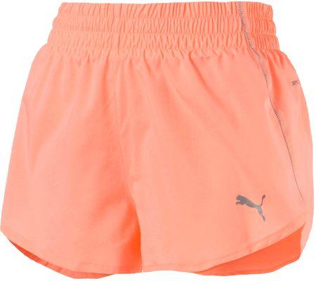 Puma ženske kratke hlače Ignite 3 Short, XS, barva breskve
