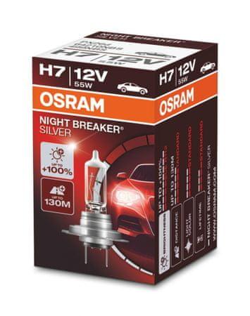 Osram Night breaker silver H7 Folding Box