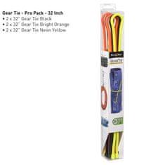 Nite Ize set gumijastih vezic Gear Tie, 81cm, 6 kos, 3 barve