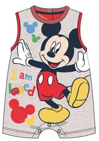 Disney by Arnetta fiú overál Mickey Mouse 56 szürke