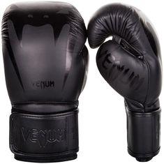 VENUM Boxerské rukavice VENUM GIANT 3.0 kůže - černo/černé