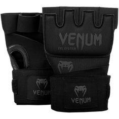 VENUM Venum rukavice Gel Kontact - černo/černé