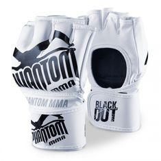 """Phantom PHANTOM MMA RUKAVICE """"Blackout PU"""" - bílo/černé"""
