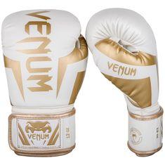 VENUM Boxerské rukavice VENUM ELITE - bílo/zlaté