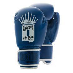 MACHINE Boxerské rukavice Machine QUEEN - modré