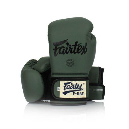 """Fairtex Fairtex Boxerské rukavice """"F-DAY"""" BGV11 - zelené"""