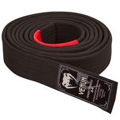 VENUM Prémiový BJJ pásek Venum - černý