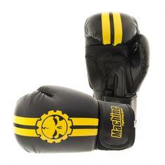 MACHINE Boxerské rukavice Machine Fast - černo / žluté