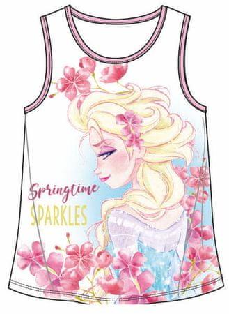 Disney by Arnetta dívčí tričko Frozen 104 biela