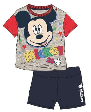 Disney by Arnetta chlapecký letní set Mickey Mouse 92 viacfarebná