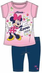 Disney by Arnetta letni komplet dziewczęcy Minnie