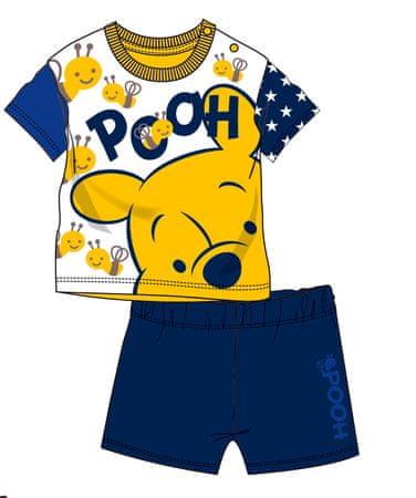 Disney by Arnetta chlapecký letní set Medvídek Pů 86 modrá