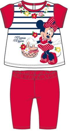 Disney by Arnetta dívčí letní set Minnie 86 červená