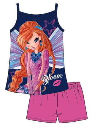 Disney by Arnetta dívčí letní set Winx 110 ružová