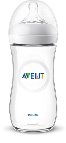 Philips Avent Fľaša Natural transparentná 330 ml