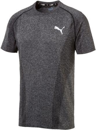Puma moška majica s kratkimi rokavi Evoknit Basic Tee Black, S, črna
