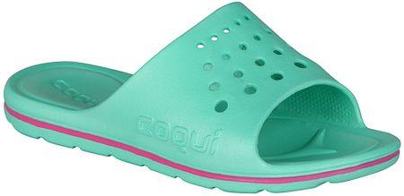 Coqui dívčí pantofle Long 28.5 zelená