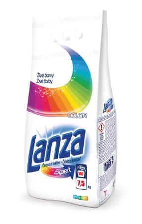 Lanza Expert pralni prah, 7,5 kg/100, barvno perilo
