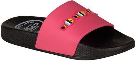 Coqui lány papucs Kitty Ruki 31.5 rózsaszín/fekete