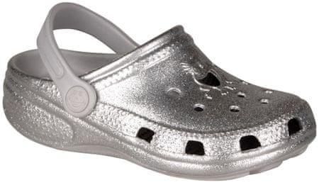Coqui dívčí sandály Little Frog 20.5 stříbrná
