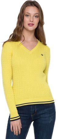 FELIX HARDY sweter damski XXL żółty