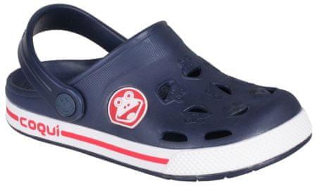 Coqui sandały chłopięce Froggy 26.5 niebieskie