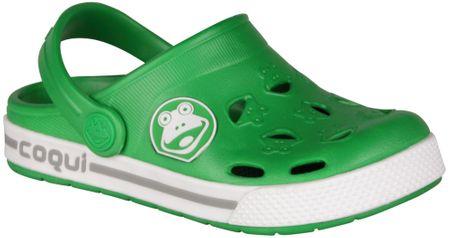 Coqui fiú szandál Froggy 28.5 zöld
