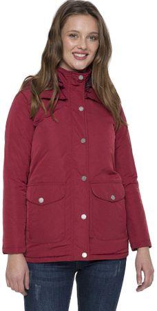 FELIX HARDY női kabát S borszínű