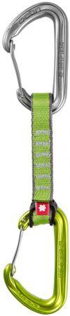 Ocun ekspresy wspinaczkowe Hawk QD Wire PA 16mm 10cm 5-pack Green