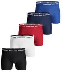 Björn Borg 5 pack pánských boxerek Shorts Noos Solids