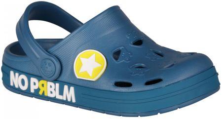 Coqui chlapecké sandály Froggy 26.5 modrá