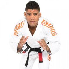 Tatami Fightwear Kimono Estilo 6.0 BJJ Gi - White & ORANGE