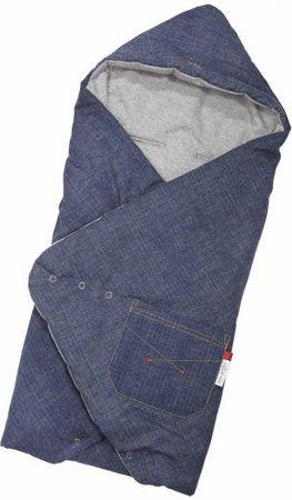 Little Angel Zavinovačka multifunkční Jeans Outlast
