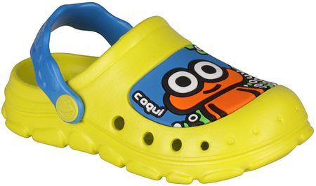 Coqui chlapecké sandály Stoney 21.5 žlutá