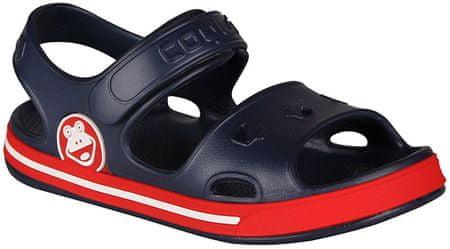 Coqui sandały chłopięce Fobee 29.5 niebieskie