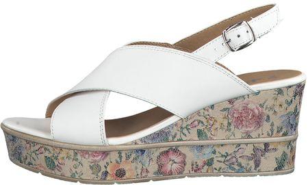 61586078d036 Tamaris dámské sandály 36 biela