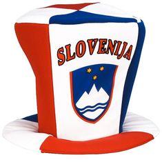 Slovenija navijaški klobuk cilinder