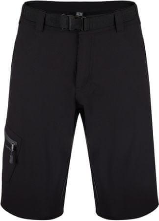 Loap moške kratke hlače Ustar, črno sive, L