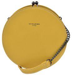 David Jones Dámská crossbody kabelka Yellow CM5083A
