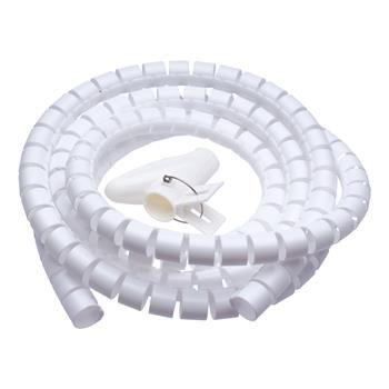 Connect IT WINDER kábelrendező, 2,5 m × 20 mm, fehér CI-679