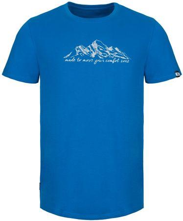 Loap moška majica s kratkimi rokavi Anebo, modra, L