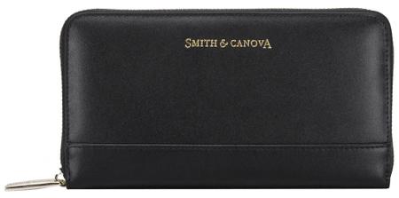 Smith & Canova portfel damski czarny