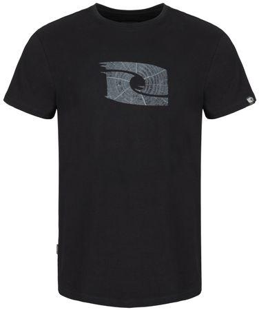 Loap moška majica s kratkimi rokavi Antar, črna, L