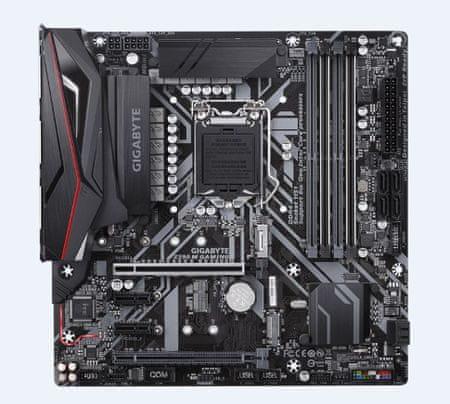 Gigabyte osnovna plošča Z390 M GAMING, DDR4, SATA3, USB3.1Gen2, HDMI, LGA1151 mATX