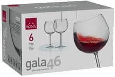 Rona Select Sklenice GALA červené víno 460 ml 4 ks