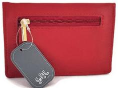 Giil ženska denarnica, rdeča